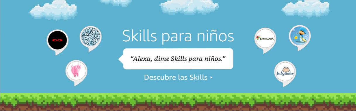 Skills de Alexa para niños