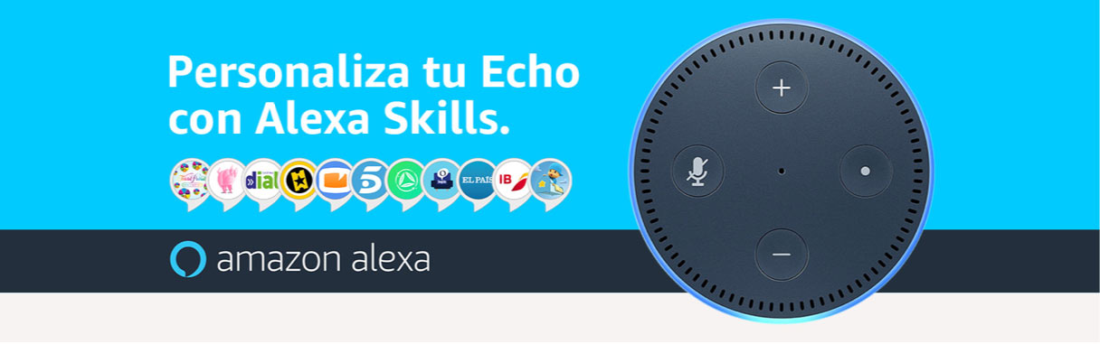 Accede a todas las skills de Alexa