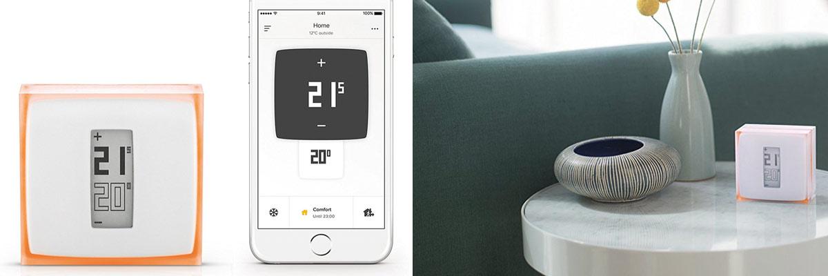 Opinión termostato Netatmo inteligente compatible con alexa