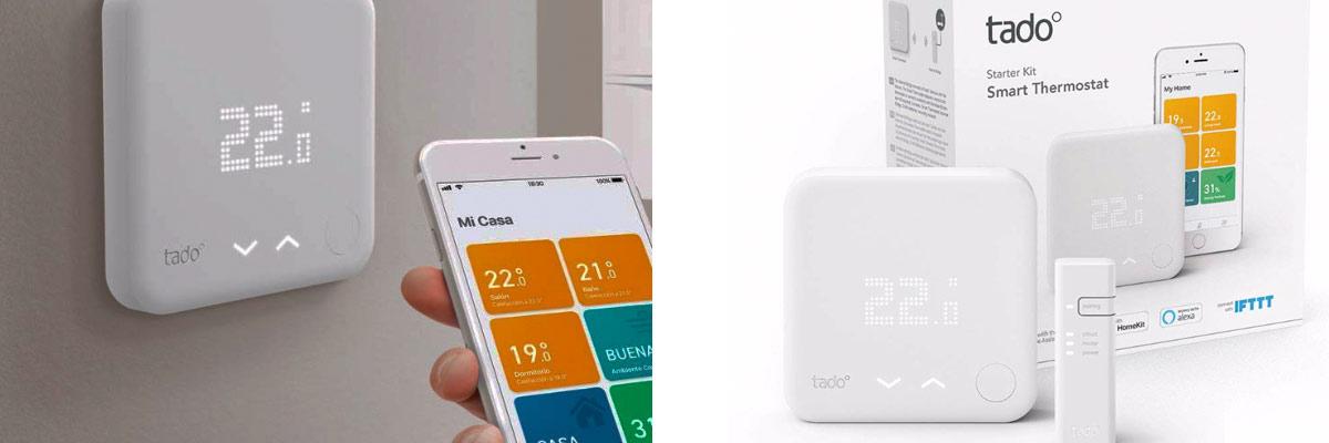 opiniones termostato inteligente con alexa integrada Tado