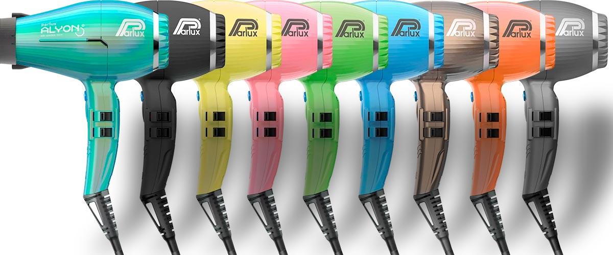 Colores Secador Parlux Alyon