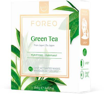 Mascarilla para tu Piel Green Tea x6